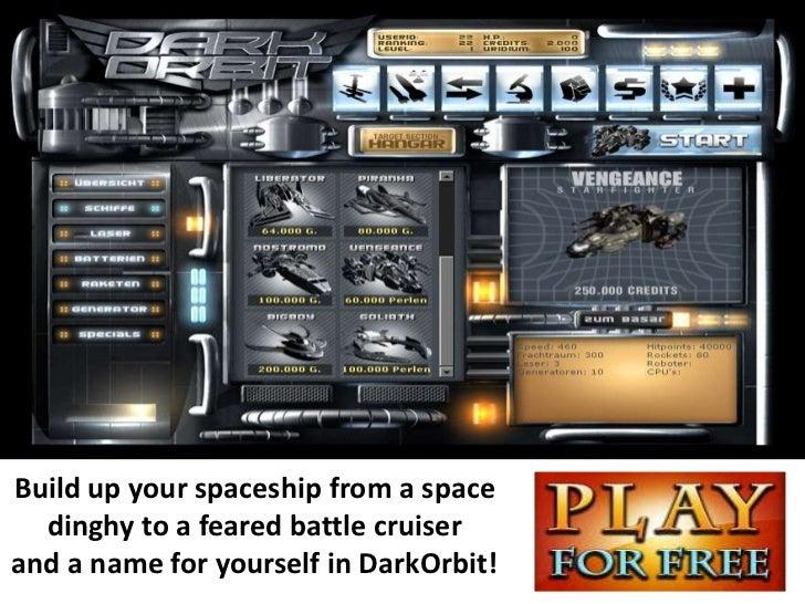 Free Dark Orbit Account