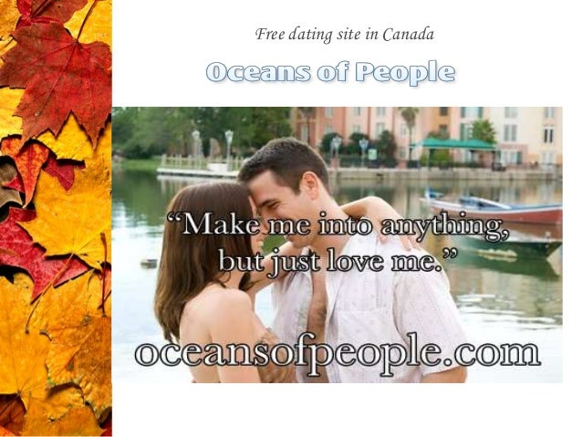 Online dating sites canada