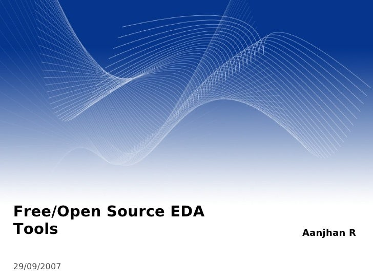 Free / Open Source EDA Tools