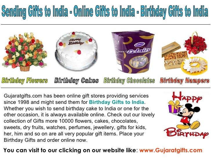 Free Delivery On Offer To Send Birthday Gifts To India