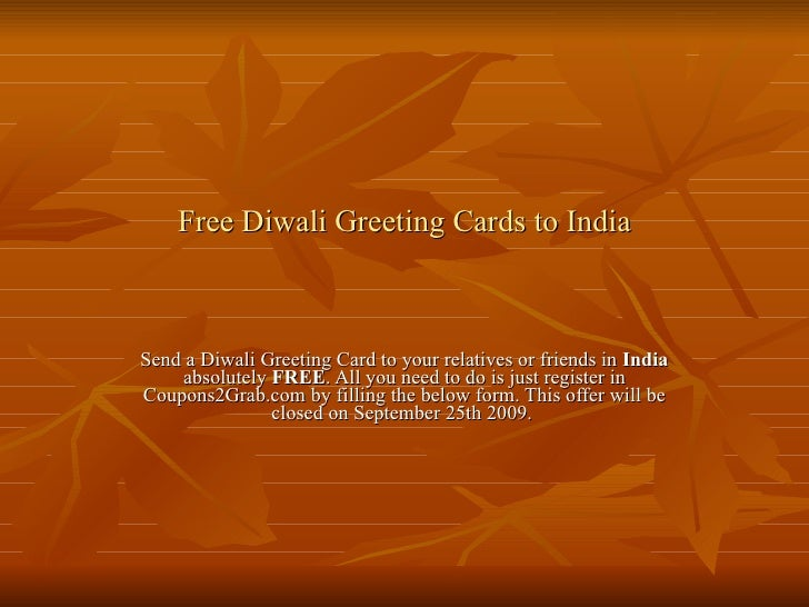 Free diwali greeting cards to india from coupons2grab free diwali greeting cards to india send a diwali greeting card to your relatives or friends m4hsunfo