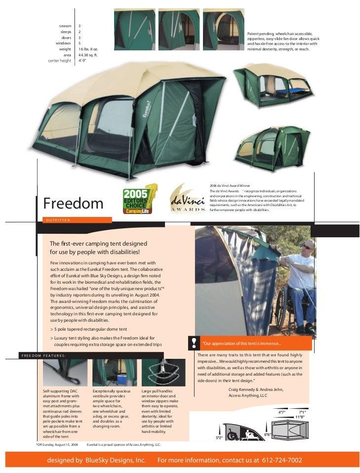 season 3 ...  sc 1 st  SlideShare & Freedom Eureka Tent by Blue Sky Designs