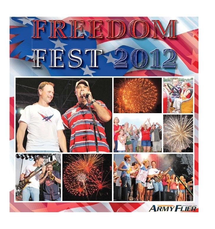ARMYFLIER.COM ❘ JUNE 28, 2012 ★ 2Event Schedule                                                                           ...
