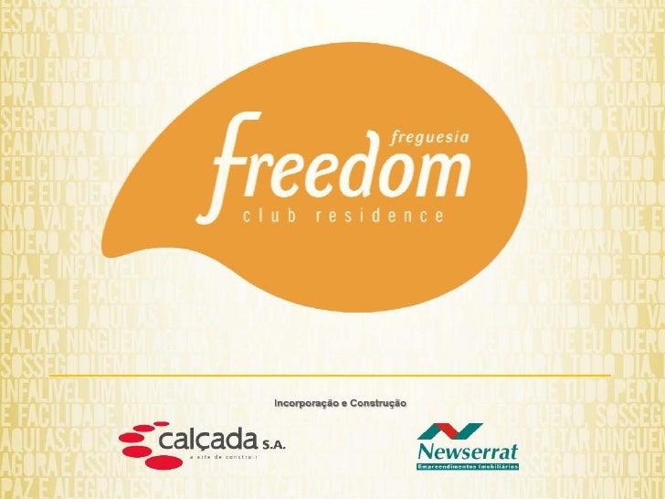 Freedom Freguesia, Club Residence, Lançamento Calçada, 2556-5838,apartamentosnorio.com