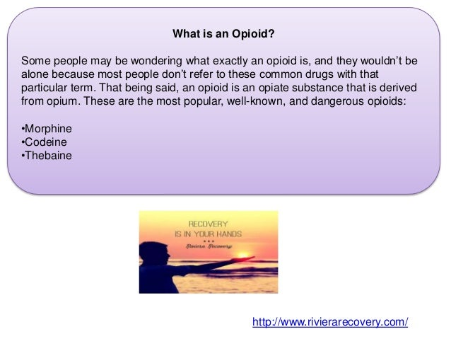 Freedom from Your Opiate Addiction  Slide 3