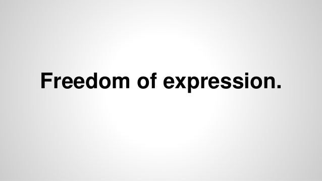 freedom of expression in the workplace essay The recent tragedy at the paris-based satire publication charlie hebdo thrust the issue of freedom of expression to the forefront why freedom of speech matters.
