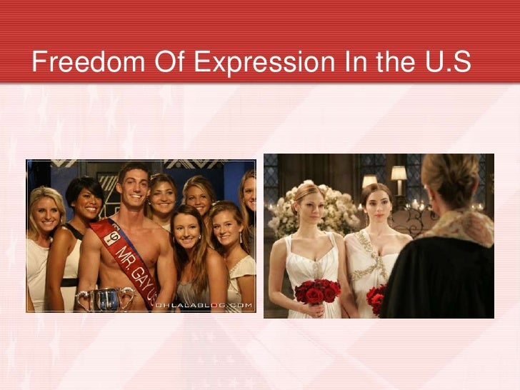 the freedom of expression in america First amendment to the united states constitution this article is part of a series on the struggles for freedom of expression in american history.