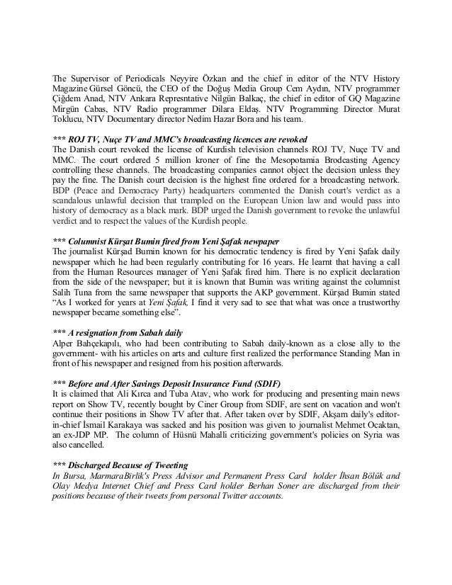 Freedom of expression weekly bulletin_13 07 05_27