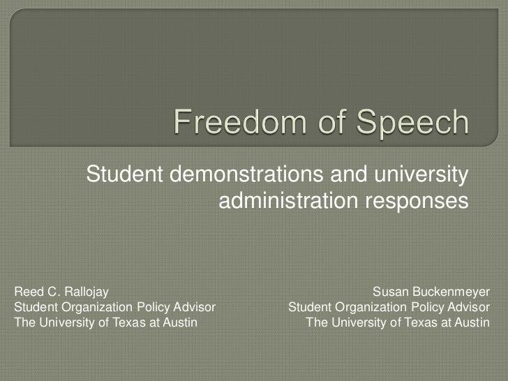 Student demonstrations and university                       administration responsesReed C. Rallojay                      ...