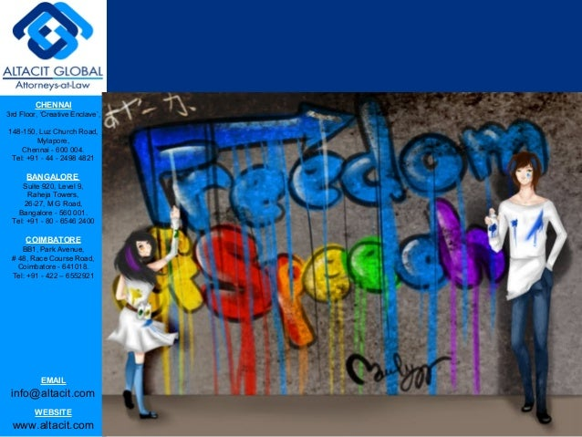 Evolution of right to freedom of speech and expression Slide 2