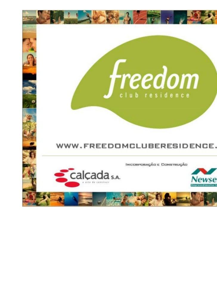 Freedom residence club   versão para clientes envio