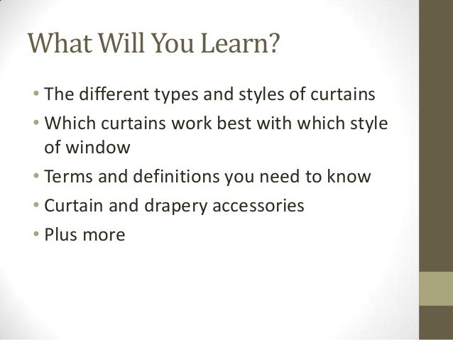 Free Drapery Course Online