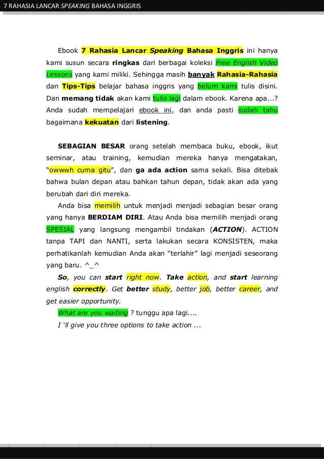 Inggris bahasa ebook download gratis belajar