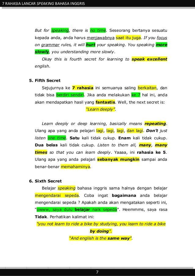 Ebook Belajar Bahasa Inggris Pemula