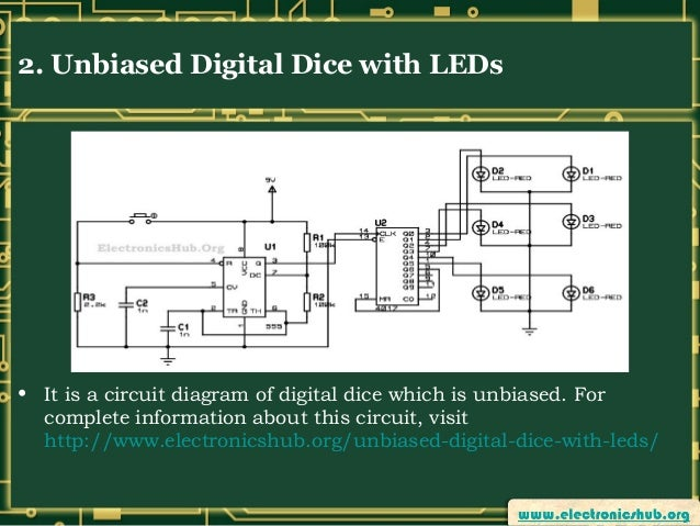 Digital Electronic Projects Circuit Diagram - Block And Schematic ...