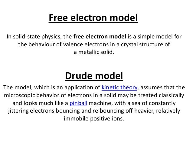 free electron theory Electron theory introduction structure and matter atoms and molecules atomic structure electron flow introduction structure and matter in.