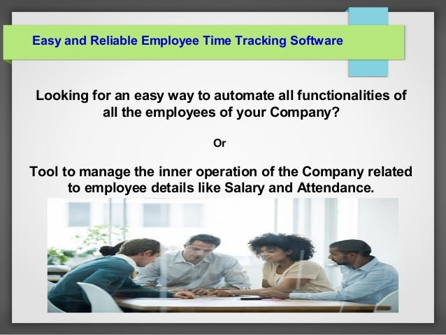 find free employee time tracking software solution