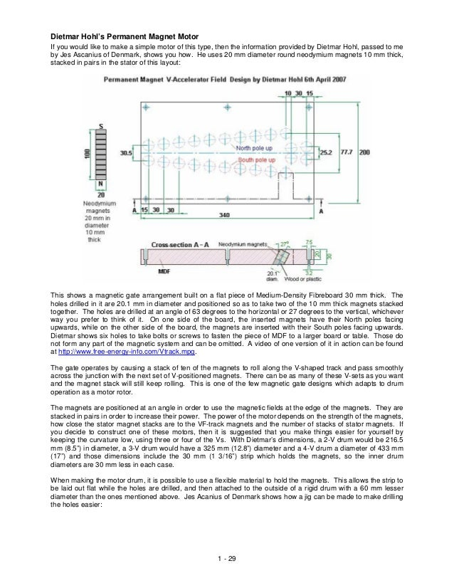 v gate magnet motor design