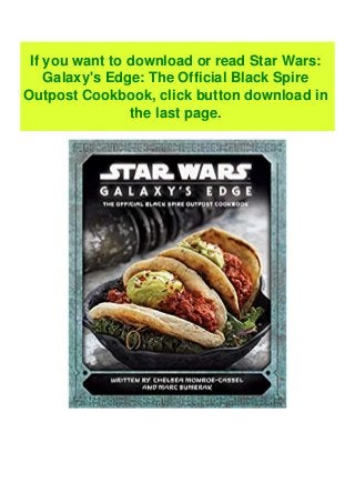 Free Epub Star Wars Galaxy S Edge The Official Black Spire Outpos