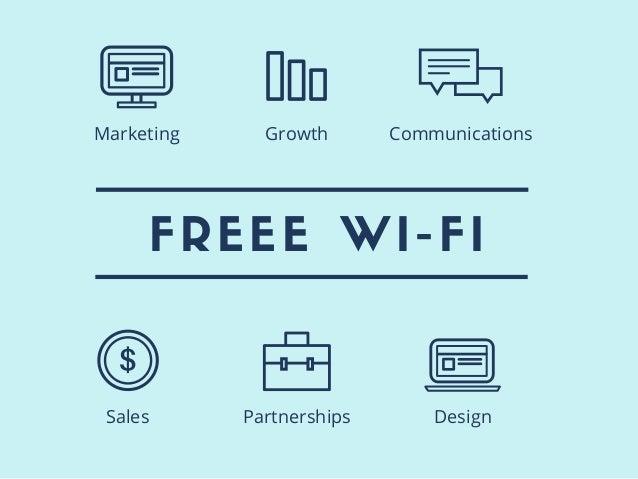 FREEE WI-FI Sales Partnerships Design Marketing Growth Communications