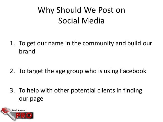 free facebook advertising for real estate agents
