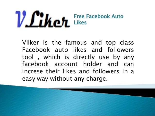 Free Facebook Auto Likes