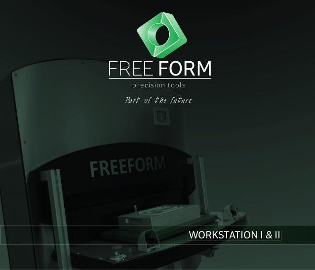 free form workstation  Freeform produktbrochure