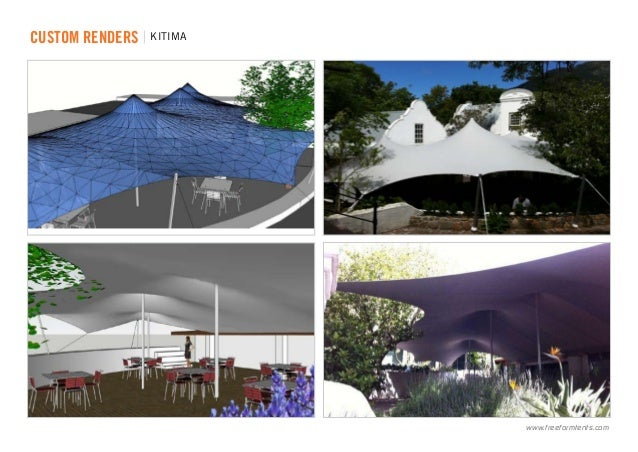 ... renders | KiTIMA .freeformtents.com ...  sc 1 st  SlideShare & Freeform® Custom Stretch Tents