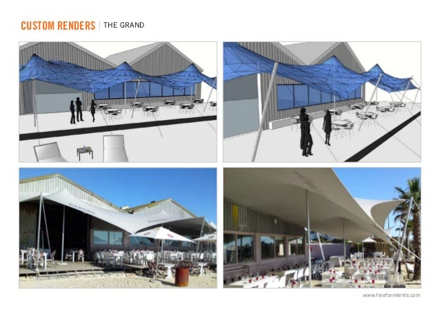 ... renders | THE GRAND .freeformtents.com ...  sc 1 st  SlideShare & Freeform® Custom Stretch Tents