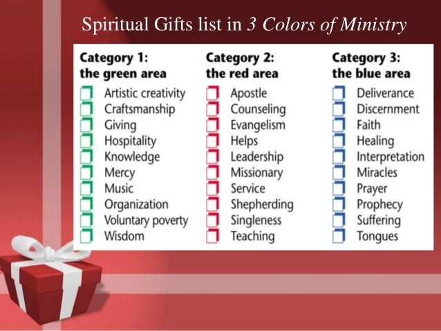 Spiritual gifts presentation spirit experience 19 negle Image collections