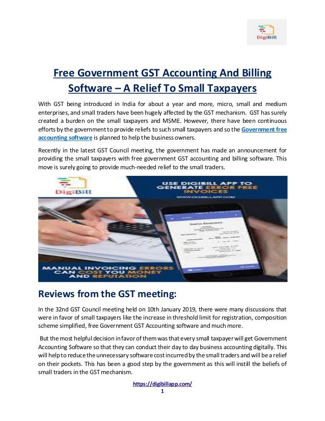 Simple Easy To Use Gst Based Accounting App