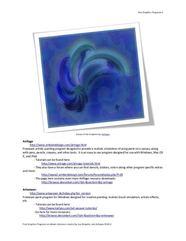 Free Graphics Programs