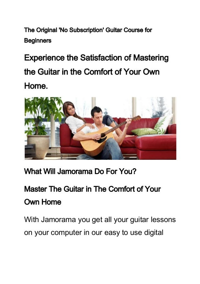 The Original No Subscription Guitar Course forBeginnersExperience the Satisfaction of Masteringthe Guitar in the Comfort o...