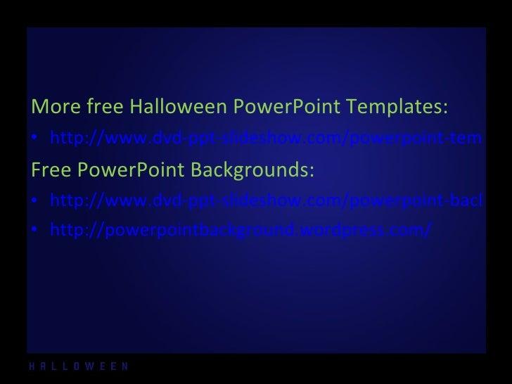 Free halloween powerpoint templates 1 free halloween powerpoint templates 1 2 toneelgroepblik Gallery