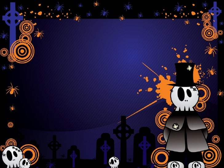 free halloween powerpoint templates (10), Modern powerpoint