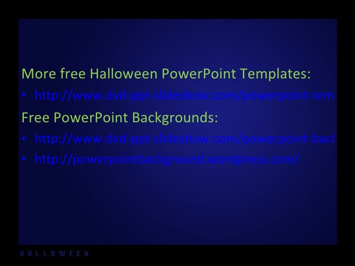 free halloween powerpoint templates 10