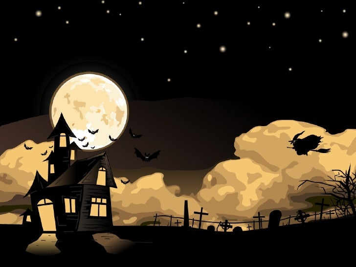 free halloween powerpoint templates (4), Modern powerpoint