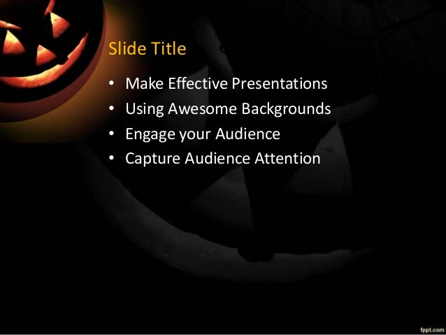 Nice Fppt Powerpoint Templates Images Gallery 2013 Halloween