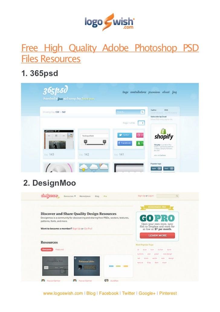 Adobe Photoshop Tutorials & Free Templates