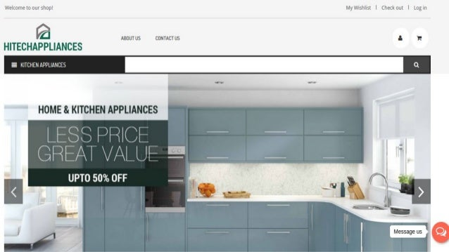 Free Home And Kitchenware Store Website Templates For Your Online Sto