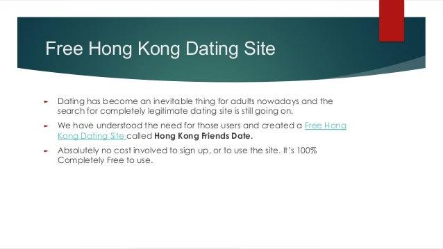 Gratis dating website Hong Kong