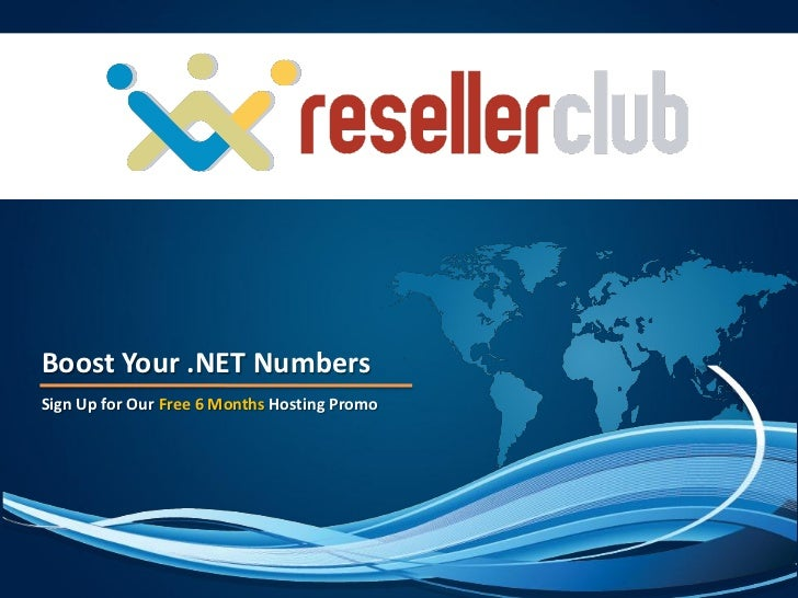 Boost Your .NET NumbersSign Up for Our Free 6 Months Hosting Promo