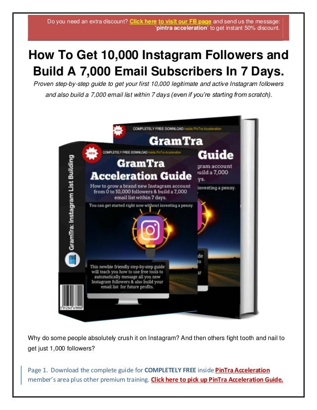 Free Instagram Traffic How To Drive Free Traffic From Instagram