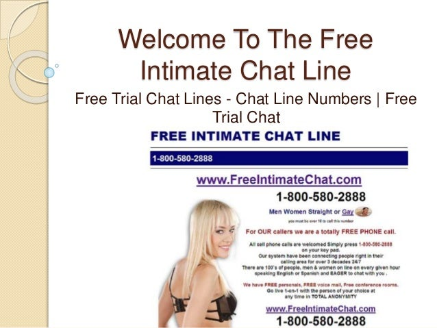 Free trial sex lines