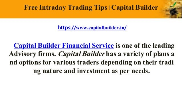 Free intraday option trading tips