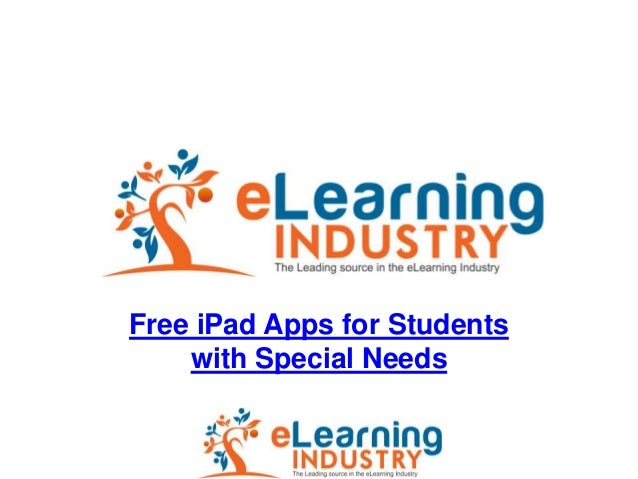 Free iPad Apps for Students with Special Needs