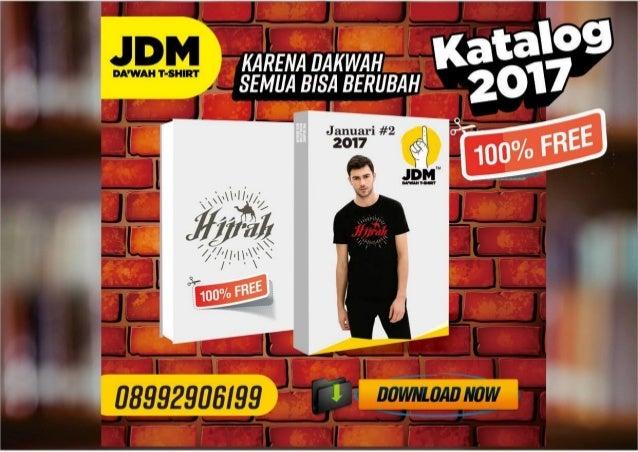 Free jdm katalog 2 2017 - kaos dakwah