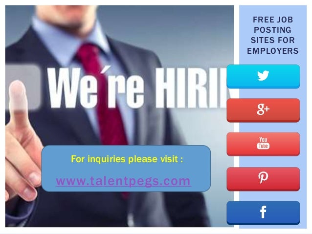 Free job posting sites for employers