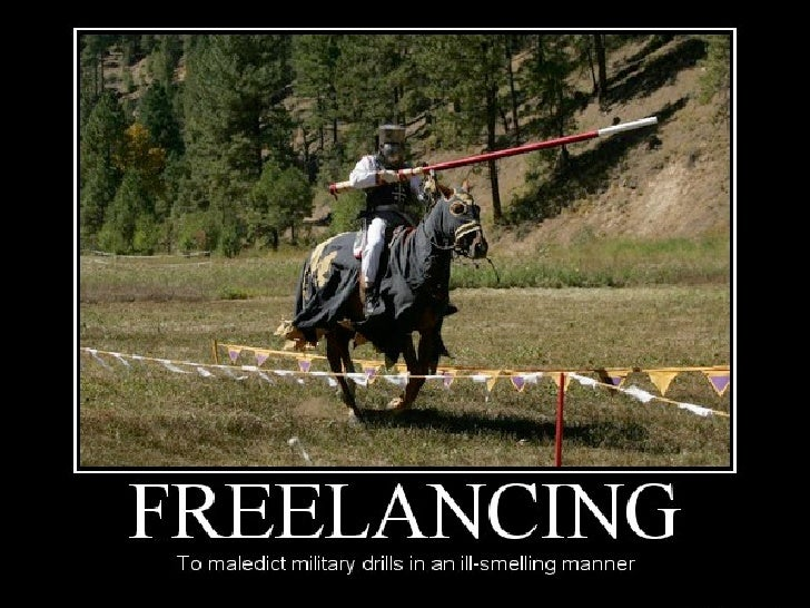 Let's hear it for freelancing!