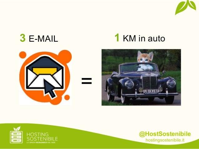 @HostSostenibilehostingsostenibile.it=3 E-MAIL 1 KM in auto